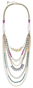 Chloe + Isabel Casablanca long statement necklace