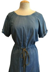 Signature Eight short dress Denim blue on Tradesy