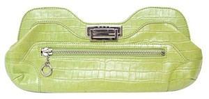 Maxx New York Lime Green Clutch