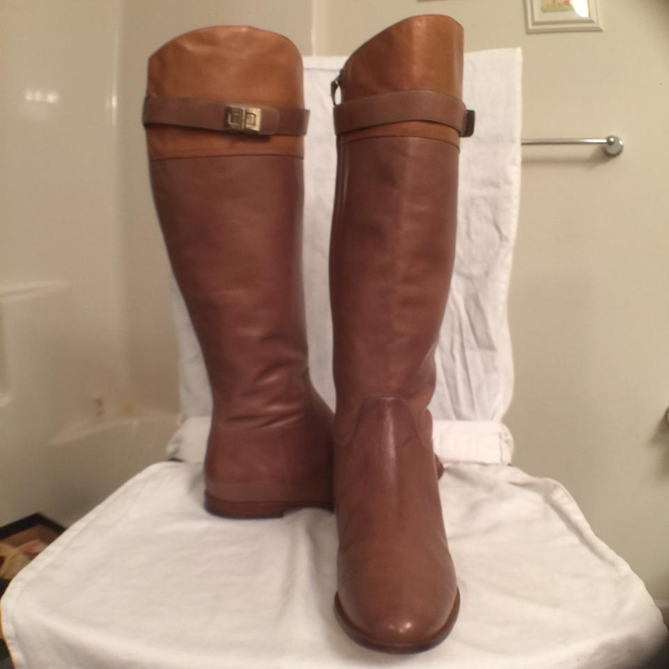 Cole Haan Riding Brown New Leather Daelin Riding Haan Boots/Booties 2d5f9c