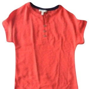 Banana Republic Top Orange/red