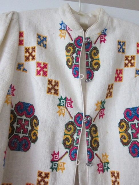 Hill Tribes from Thailand Ivory Jacket