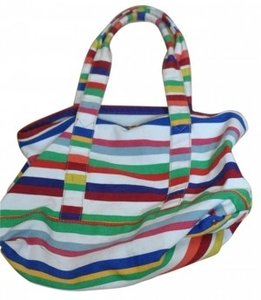 J.Crew Canvas Tote Tote Striped Beach Bag