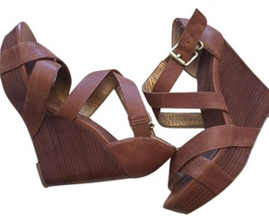 Banana Republic Taupe Wedges