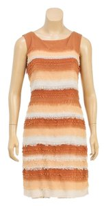 Piazza Sempione short dress Orange on Tradesy