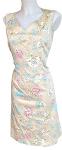 Oscar de la Renta short dress Multi/Floral on Tradesy