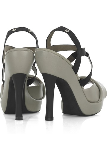 Marni Leather Gray Sandals