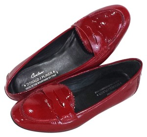 Donald J. Pliner Red Patent Flats