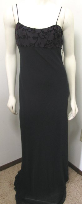 Kay Unger New Party Piece Long Sheer Beaded Cardigan Size 6 Dress