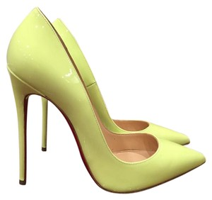 Christian Louboutin Sokate yellow Pumps