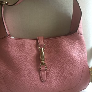 feeb80855a6 Added to Shopping Bag. Gucci Hobo Bag. Gucci Jacky Pink Leather ...