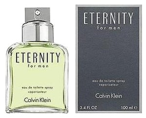 Calvin Klein New in Box Eternity 3.4 oz EDT Cologne for Men