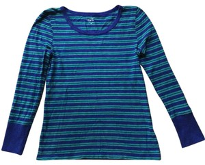 J.Crew T Shirt Blue Green