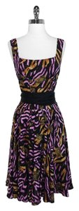 Diane von Furstenberg short dress Waist Silk on Tradesy