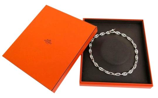Hermès Hermes Chaine D'Ancre Sterling Silver Necklace