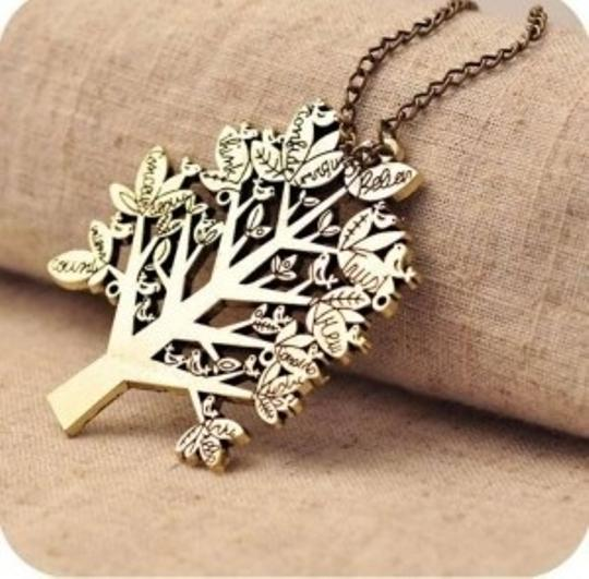 Preload https://item1.tradesy.com/images/bronze-europe-vintage-palace-bird-christmas-tree-letters-chain-pendant-necklace-163255-0-0.jpg?width=440&height=440