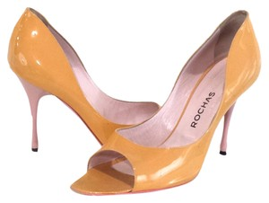 Rochas Light Sorbet Patent Pumps