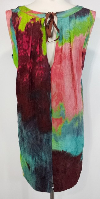 Tracy Reese short dress Cubist Abstract Watercolor on Tradesy