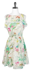 Ted Baker short dress Floral Print Ruffle on Tradesy