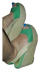 Splendid green Sandals