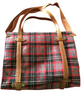 Nila Anthony Satchel in Red Plaid