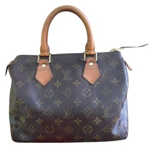 Louis Vuitton Speedy Speedy 25 Monogram Speedy Monogram Speedy 25 Monogram Satchel in brown