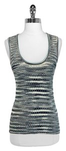 M Missoni Top Striped Metallic