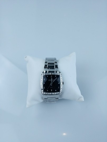 Skagen Denmark Silver Tone Square Face Watch