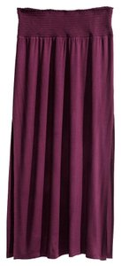 H&M New With Tags Maxi Skirt Maroon