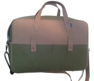 MRKT green tan Travel Bag