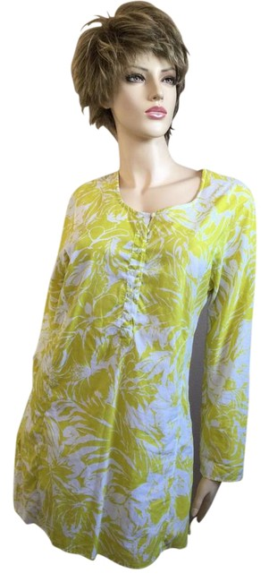 Item - Chartreuse Yellow Cover Up Tunic Size 4 (S)
