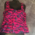 Marc Jacobs Poppy Pink Multi M1532335 Tank Top/Cami Size 10 (M) Marc Jacobs Poppy Pink Multi M1532335 Tank Top/Cami Size 10 (M) Image 3