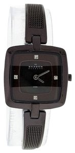 Skagen Denmark Skagen Female Dress Watch 454SMMP Black Analog