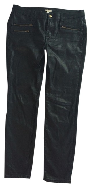 Item - Black Coated In Denim Skinny Jeans Size 29 (6, M)