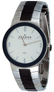 Skagen Denmark Skagen Male Dress Watch 430MSMXM Silver Analog