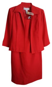 Jessica Howard Red business suit