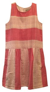 ace&jig short dress Pink/red, white (big top) Ace & Jig Shift Summer on Tradesy