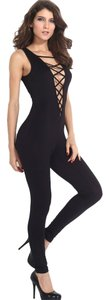 Other Jumpsuit Black Halter Top