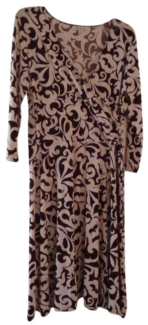 En Focus Studio Longsleeve Wrap Dress