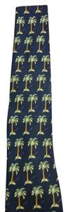 Tommy Bahama Men's Navy / palm tree Tommy Bahama Necktie