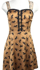 Forever 21 short dress Brown on Tradesy