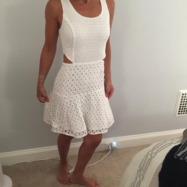 Jessica Simpson short dress White on Tradesy
