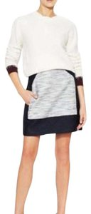 3.1 Phillip Lim Mini Skirt Dark navy & heather grey