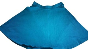 Forever 21 Stretchable Skirt blue