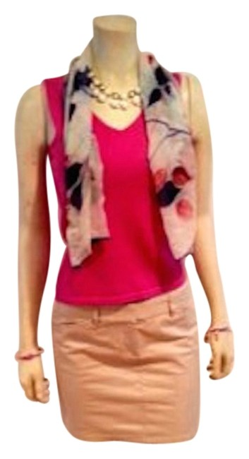 Preload https://img-static.tradesy.com/item/16334797/ann-taylor-pink-small-sleeveless-stretch-p600-blouse-size-4-s-0-3-650-650.jpg