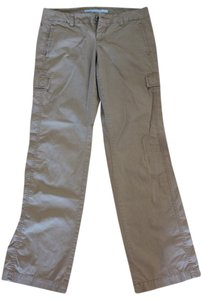 Old Navy Zip Front Pockets Low-rise Beige Khaki/Chino Pants Khaki