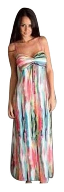 Preload https://img-static.tradesy.com/item/16336432/josie-ikat-printed-slinky-gown-women-s-pre-owned-tank-topcami-size-16-xl-plus-0x-0-1-650-650.jpg