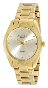 Kenneth Cole Kenneth Cole Female Dress Watch KC4949 Gold Analog