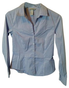 H&M Button Down Shirt Light blue