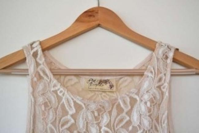 Free People short dress Alabaster on Tradesy